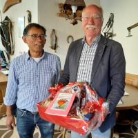 Bernd Döbbelin und Vorstand Roland Sekatzek
